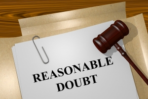 Burdens of Proof in a Criminal Case and reasonable doubt
