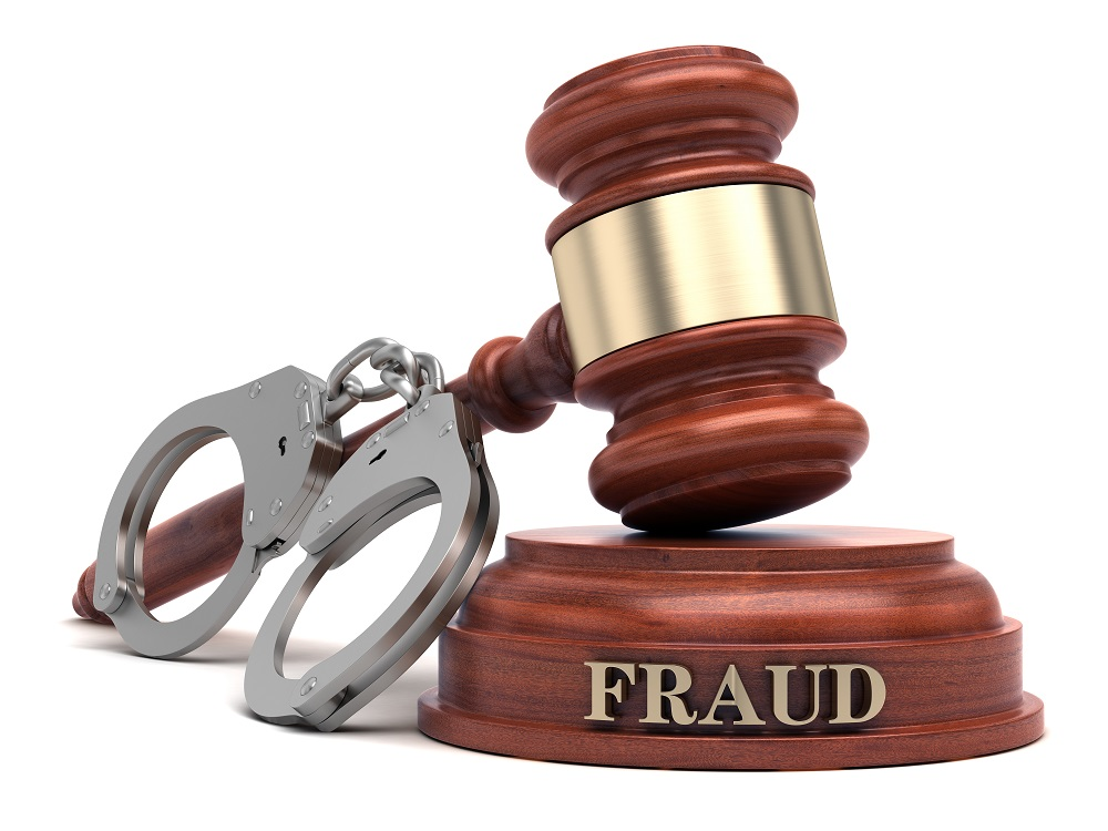 being charged with fraud