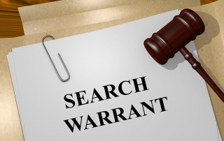 executing a search warrant